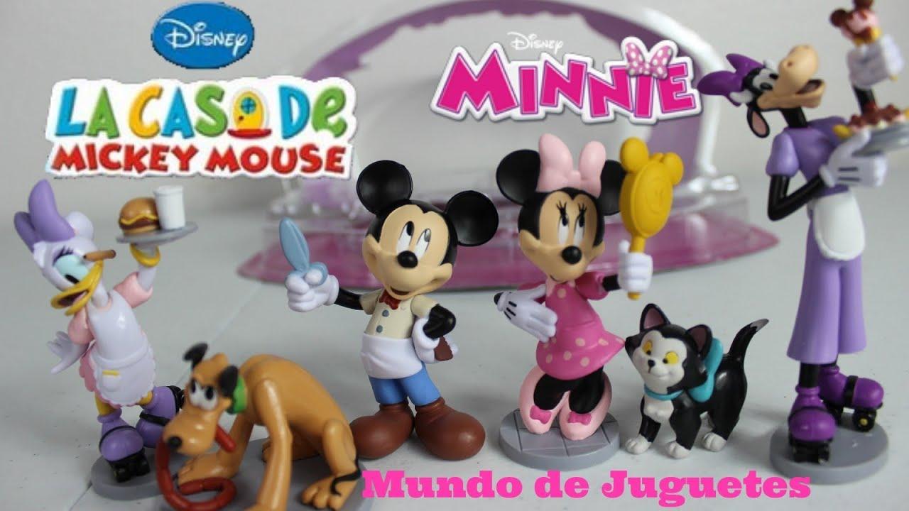 Juguetes de mickey y minnie mouse pluto daisy caja de juegos disney