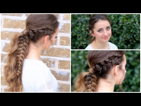 How to Create a Viking Braid Ponytail | Combo Hairstyles