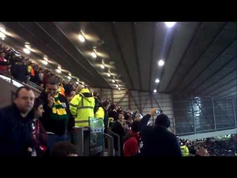 Manchester United - Ajax 23-02-12 Three Little Birds
