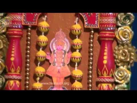 Hindola Darshan Utsav Zankhi 30 Jul 2014 Indian Festival Hindola Swaminarayan Temple video