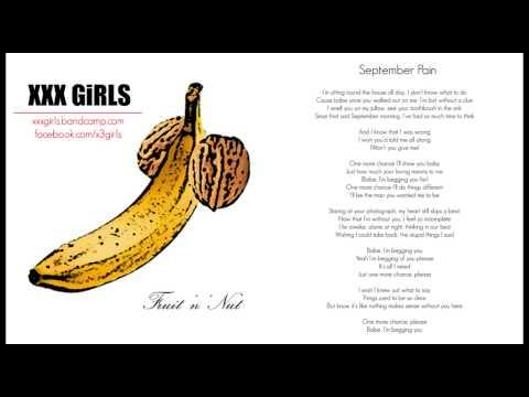 XXX GiRLS - September Pain