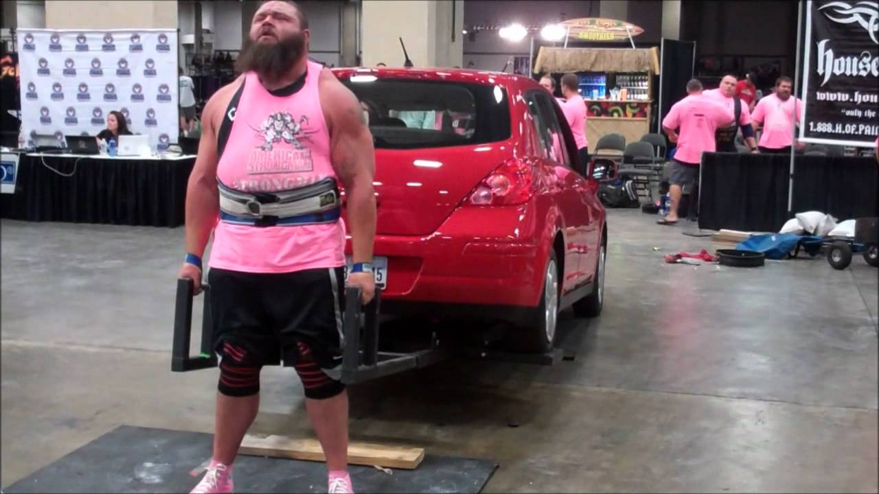 Dallas Car Show >> Robert Oberst Car Deadlift Dallas Europa - YouTube