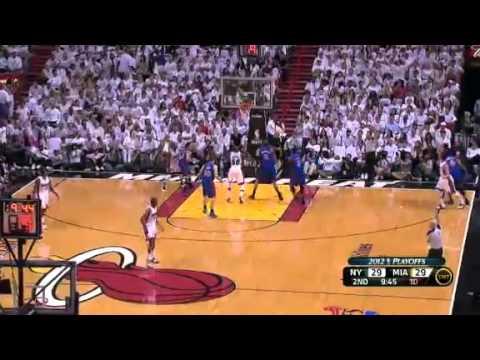 NBA Playoffs 2012: New York Knicks Vs Miami Heat Game 2 Highlights (0-2)