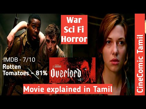 Overlord (2018) Movie Explained In Tamil/Sci Fi, Horror,War/Julius Avery ,Jovan Adepo, Wyatt Russell