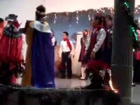 Villancicos colegio la paz Apatzingan michoacan
