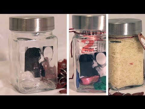 Wedding Anniversary Gift Ideas Diy : DIY Gift ideas: Using a Jar (Valentines, Christmas, Anniversary ...