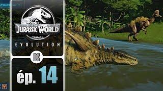 [FR] Jurassic World Evolution gameplay ép. 14 de la campagne (let's play complet)