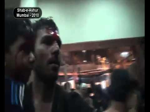 TaLwAR Ka Matam Muharram ShAb e AsHuRa in MumBai {{ INDIA }} = 2010