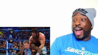 Roman Reigns Hits Mr. McMahon with a Superman Punch | SmackDown LIVE | REACTION