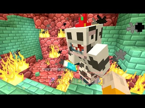 Minecraft Xbox Quest To Kill The Wither 5