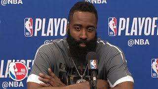James Harden on Rockets' Game 3 win: Poor night won't stop me from shooting | 2019 NBA Playoffs