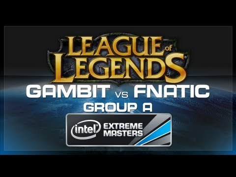 Gambit Gaming vs Fnatic - LoL (Group A) - IEM World Championship 2013