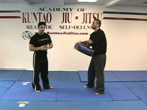 Kuntao Jiu-Jitsu Instructional Training Videos: Front Kick Image 1
