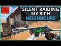 SOLO SILENT RAIDING My RICH Neighbour S BASE Rust Solo Survival Episode 5 mp3