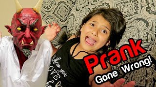 SCARE PRANK GONE EXTREMELY WRONG