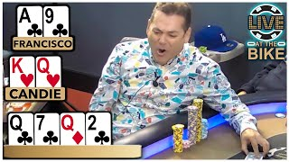 When Poker Gets UGLY ♠ Live at the Bike!