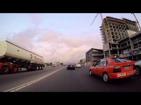 Côte d'Ivoire Abidjan filmée en Gopro / Ivory coast Abidjan filmed by Gopro