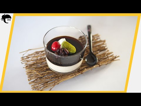 Recetas japonesas: Como preparar Mousse de kinako / Cocina Japonesa con Taka Sasaki