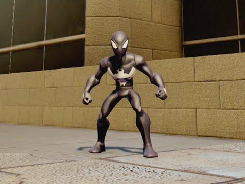 Disney Infinity 2 Marvel Superheroes - Black Suit Spider-man video
