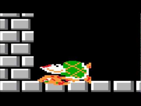 Mario Versus Bowser-Battle Of The Bloopers