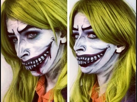Halloween Makeup: The Joker Makeup inspired by BeautybyDehonsae