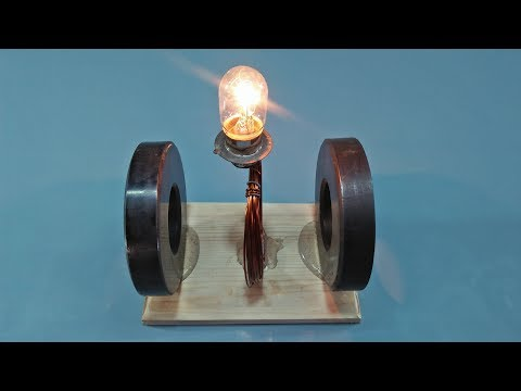 How to Build,FREE ENERGY, Magnets, For Light Bulb New ,TECHNOLOGY, 100% FREE ELECTRICITY thumbnail