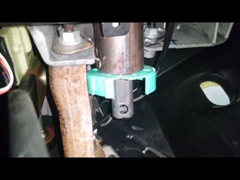 Replace Steering Column Bearing - Fix Silverado Steering Clunk/Rattle/Noise