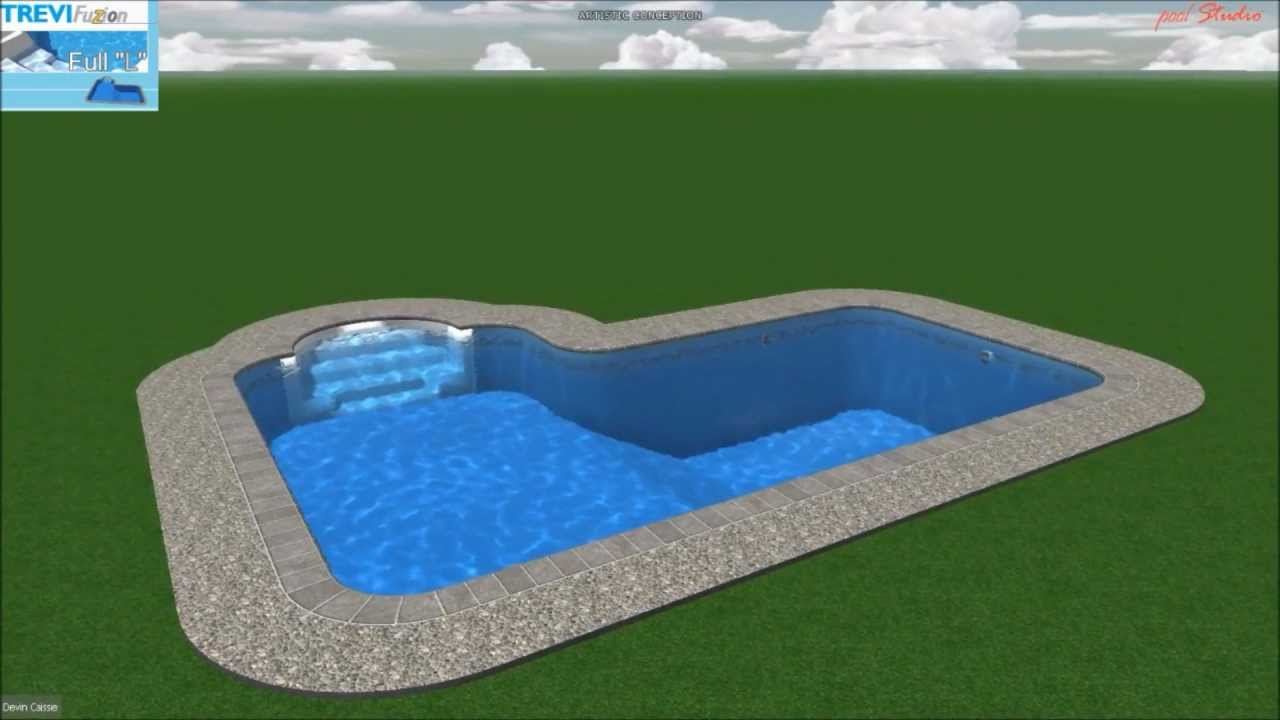 Piscine tr vi fuzion full l youtube for Piscine trevi