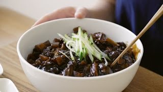 짜짜라짜짜~ 짜장면 : Jajangmyeon (Black bean Noodles) | Honeykki 꿀키