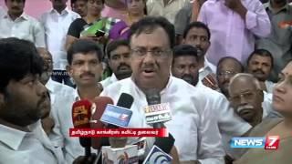 Jayalalithaa should resign as CM for Chennai floods : EVKS Elangovan