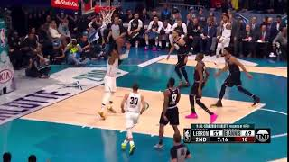 Paul George 360 Dunk in NBA All Star Game 2019