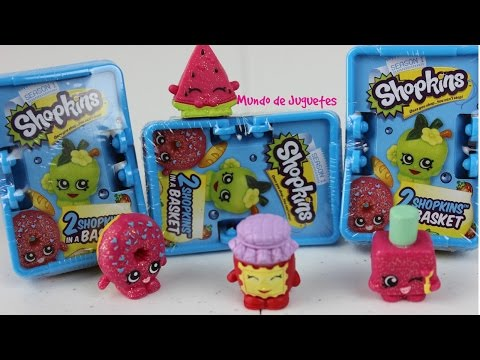 Shopkins Blind Baskets Blind Bags- Revision de Juguetes| Mundo de Juguetes