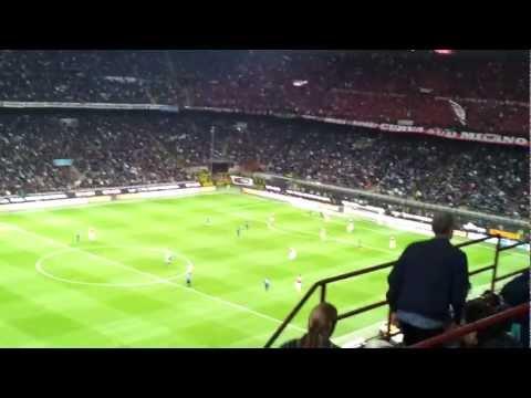 Inter - Milan 4-2 (06.05.2012) - Gol fantasma di Esteban Cambiasso ripreso dallo stadio