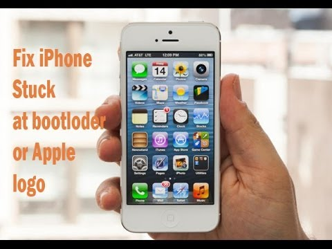 Fix iPhone 5. 4s. 3G  Stuck at Apple logo 2014