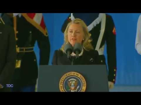 Benghazi Attack Victims Honored by Hillary Clinton