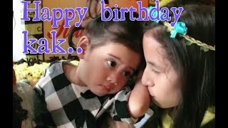 Download video Vania dan kak Lety ,happy birthday kak Letycia..