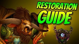 Restoration Druid PvE Guide 8.0.1 | Talents & Rotation | World of Warcraft Battle for Azeroth