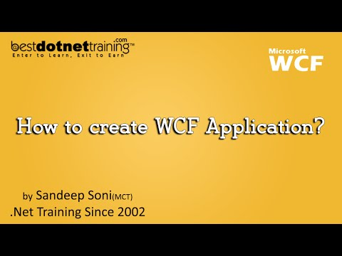 WCF Tutorial: 1st WCF Application by bestdotnettraining.com