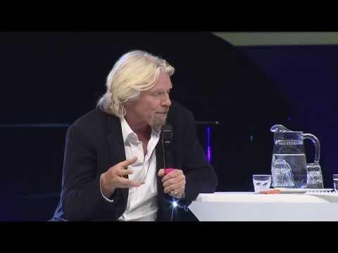 Nordic Business Forum - Richard Branson on building a great enterprise