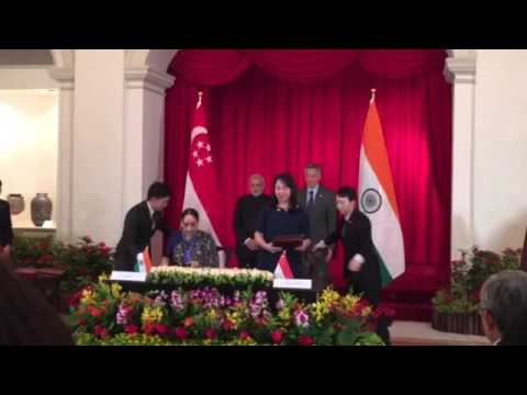 India- Singapore: Signing of loan of artefacts MOU