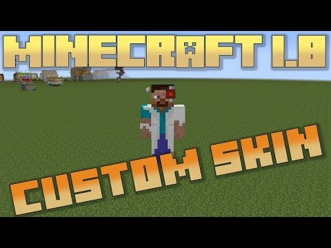 Minecraft 1.8: Player Skin Editing Tutorial Downloads