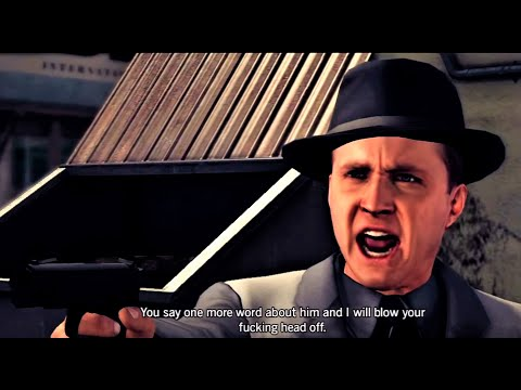 Cole Phelps Says F#%king Twice (L.A. Noire)