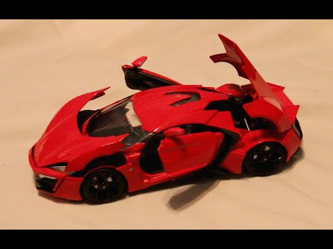 Review - 1:18 Scale Jada Lykan Hypersport - Fast & Furious 7
