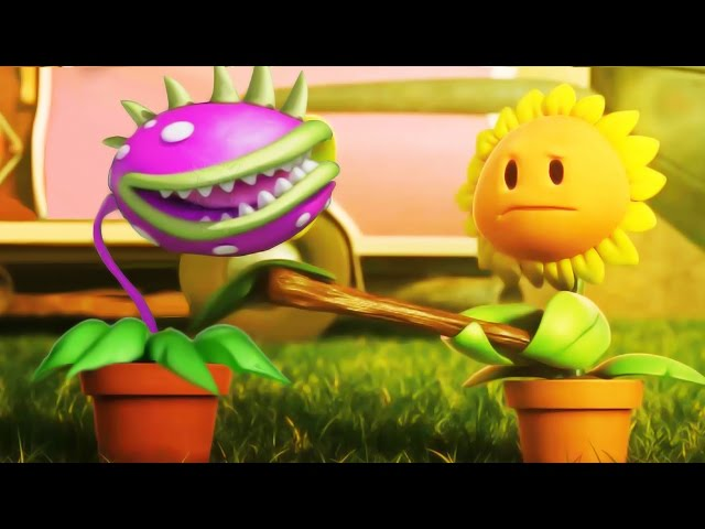 Plants vs Zombies 3D Cartoon Animation All Episodes China! 植物大战僵尸! thumbnail
