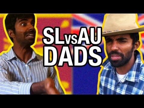 Sri Lankans Vs Aussies: Dad