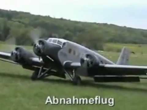 Worlds Largest Ju 52 RC model plane.mp4