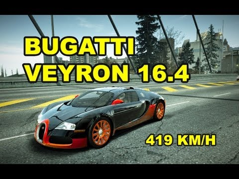 NFS World Bugatti Veyron 16.4  Full Ultra / 419 KM/H  /without hack / sin hack