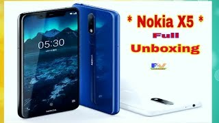 Nokia X5 Unboxing And First Look - Full Review Nokia X5 - All Future - New Mobile Phone .