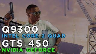 GTA 5 Grand Theft Auto 5 (2015) Gameplay GeForce GTS450 - Intel Core 2 Quad Q9300 - 4GB RAM