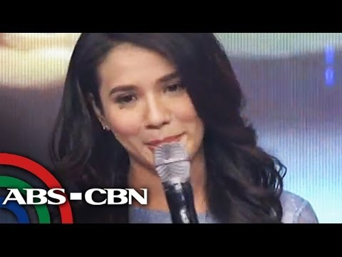 Emotional Karylle announces engagement to Yael